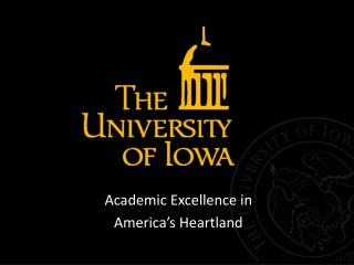 Academic Excellence in  America's Heartland