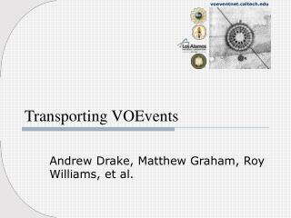 Transporting VOEvents