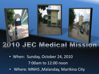 2010 JEC Medical Mission