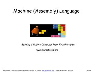 Machine (Assembly) Language