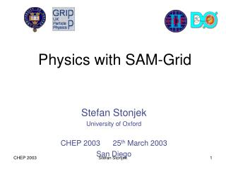 Physics with SAM-Grid