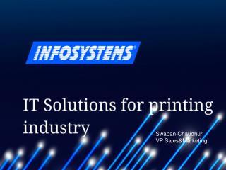 Innovative technologies for printing companies