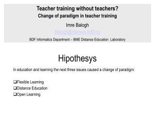 Hipothesys