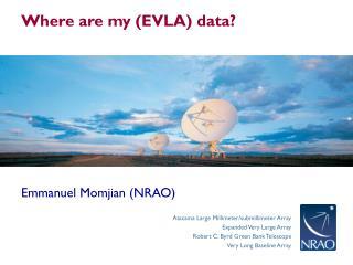 Emmanuel Momjian (NRAO)