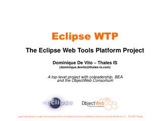 Eclipse WTP