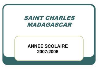 SAINT CHARLES MADAGASCAR
