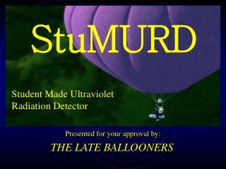 Student Made Ultraviolet Radiation Detector
