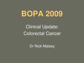 BOPA 2009