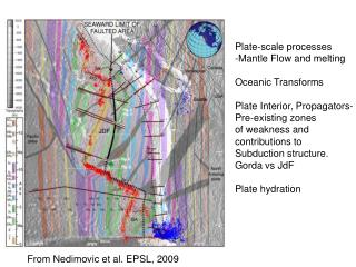 Plate-scale processes -Mantle Flow and melting Oceanic Transforms Plate Interior, Propagators-