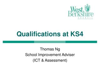 Qualifications at KS4