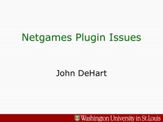Netgames Plugin Issues