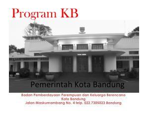 Badan Pemberdayaan Perempuan dan Keluarga Berencana Kota Bandung