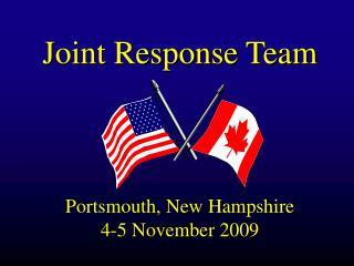 Joint Response Team