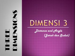 DIMENSI 3