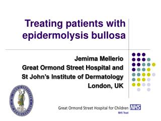 Treating patients with epidermolysis bullosa
