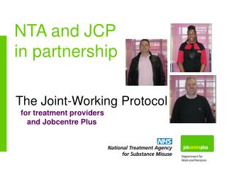 NTA and JCP in partnership