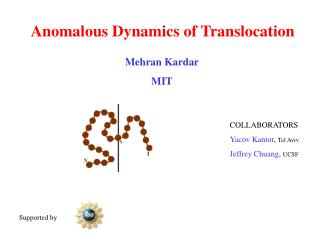 Anomalous Dynamics of Translocation