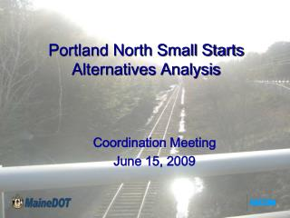 Portland North Small Starts Alternatives Analysis