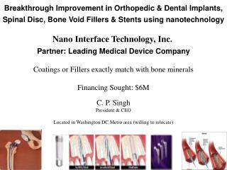 Nano Interface Technology, Inc.