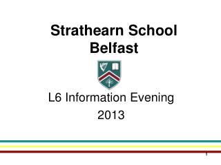 Strathearn School Belfast