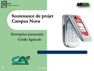 Soutenance de projet  Campus Nova