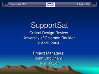 SupportSat