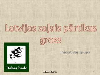 Latvijas zaļais pārtikas grozs