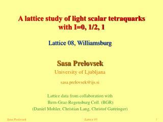 A lattice study of light scalar tetraquarks  with I=0, 1/2, 1
