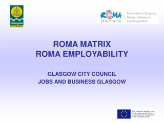 ROMA MATRIX ROMA EMPLOYABILITY