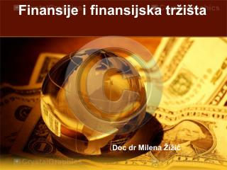 Finansije i finansijska tržišta