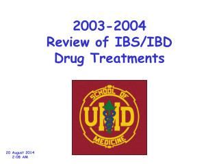 2003-2004 Review of IBS/IBD Drug Treatments