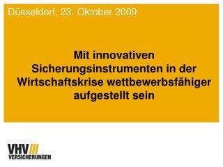 Düsseldorf, 23. Oktober 2009