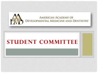 STUDENT COMMITTEE