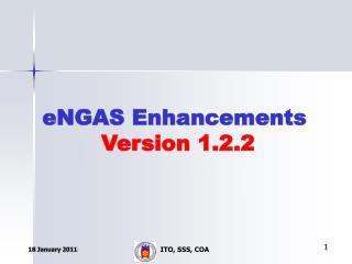 eNGAS Enhancements   Version 1.2.2