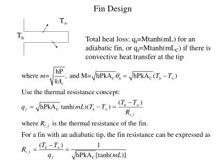 Fin Design