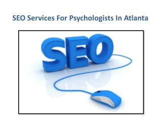 SEO Services for Psychologists in Atlanta