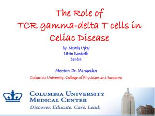 The Role of TCR gamma-delta T cells in Celiac Disease