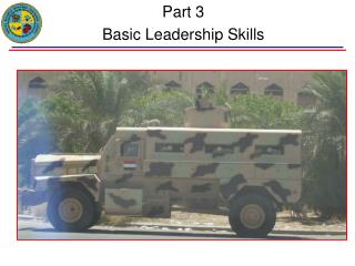 Part 3 Basic Leadership Skills