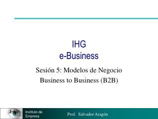 IHG e-Business