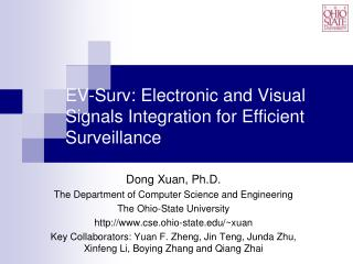 EV-Surv: Electronic and Visual Signals Integration for Efficient Surveillance