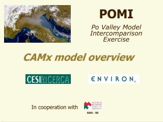 POMI Po Valley Model Intercomparison Exercise
