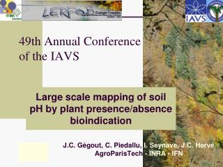 49th Annual Conference of the IAVS