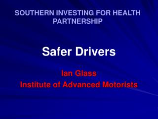 SOUTHERN INVESTING FOR HEALTH PARTNERSHIP