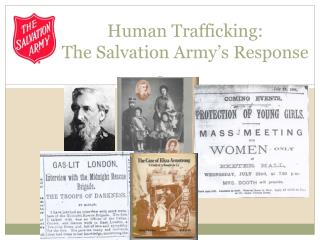 Human Trafficking: The Salvation Army ' s Response