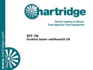 IFT-70  Funkční tester vstřikovačů CR