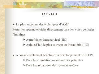 IAC - IAD