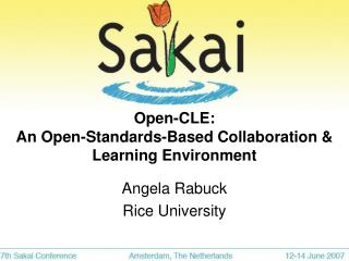 Open-CLE:  An Open-Standards-Based Collaboration & Learning Environment