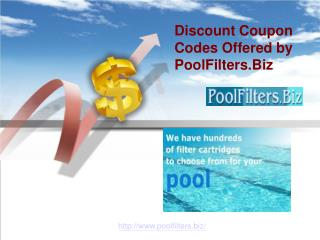 Get Discount on Pool Filter Cartridges