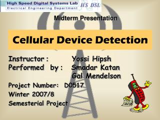 Cellular Device Detection