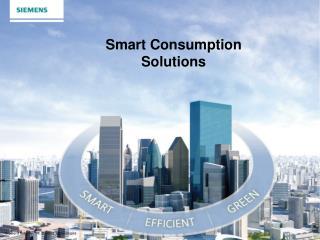 Smart Consumption Solutions